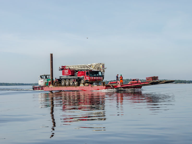 The Big Red Barge